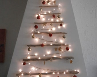 Decorazioni In Legno Per Albero Di Natale : Legno albero di natale etsy