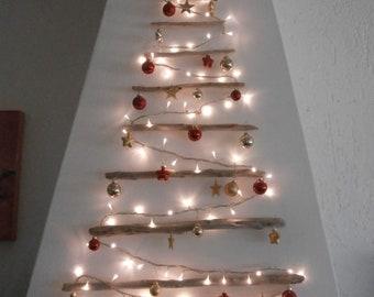 Alberi Di Natale In Legno Da Parete : Albero di legno arredamento etsy