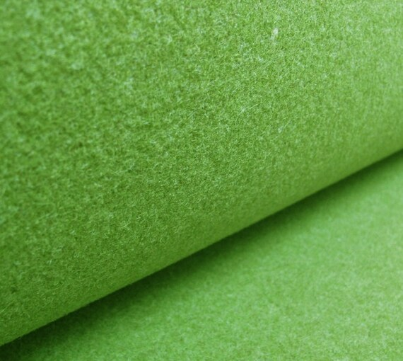 Wollfilz Meterware Filz grün grüner Filz 3mm stark Wollfilz grün kaktusgrün