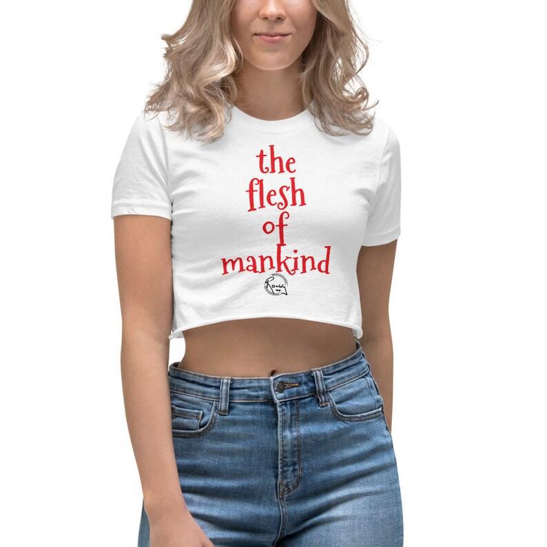 Belinda's flesh of mankind Women's Crop image 0