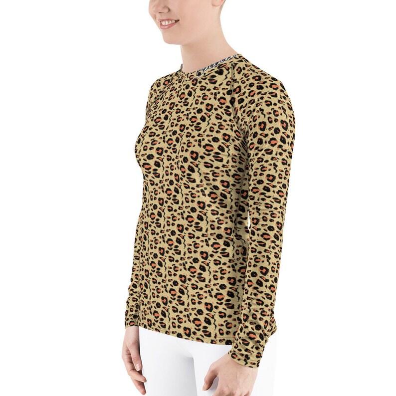 A Rocky Flintstone Designer Label Leopard Print Women's image 0
