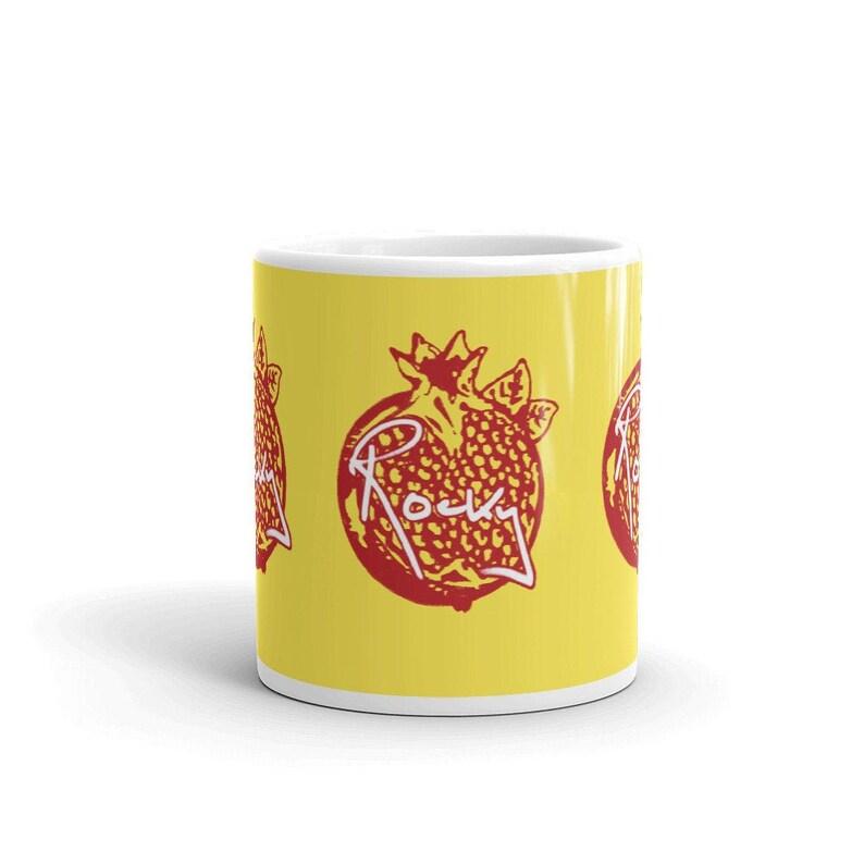 Rocky Pomegranate Ceramic Mug image 0