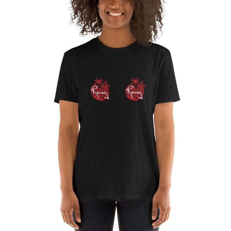 Rocky Pomegranates Short-Sleeve Unisex T-Shirt. image 0