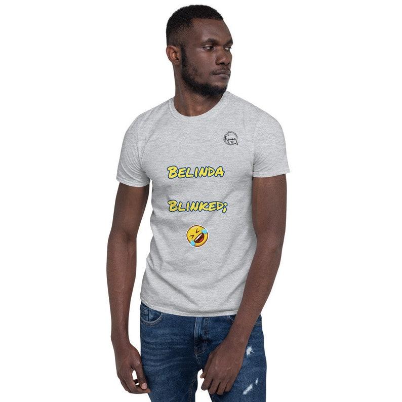 Rocky Flintstone Belinda Blinked Short-Sleeve Unisex T-Shirt image 0