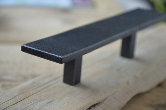 Möbelgriffe Industrial Stahl Design Eckig Breit Etsy