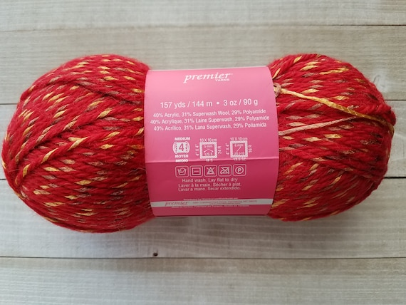 Red 3 cards Vintage German Cotton Thread Fawn. Pink