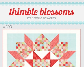 Patchwork Swoon Quilt Pattern from Thimble Blossoms