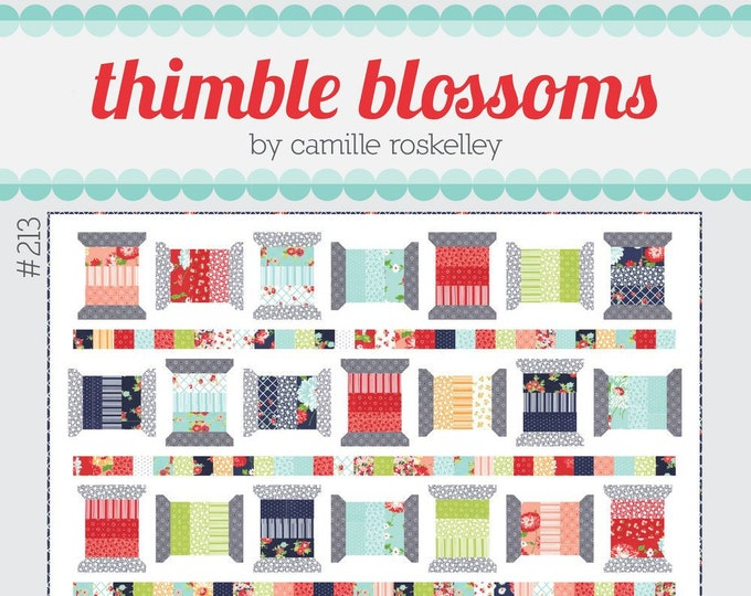 Spools 2 Quilt Pattern from Thimble Blossoms