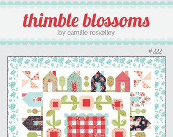 Springville Quilt Pattern from Thimble Blossoms