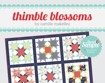Star Bright Quilt Pattern from Thimble Blossoms