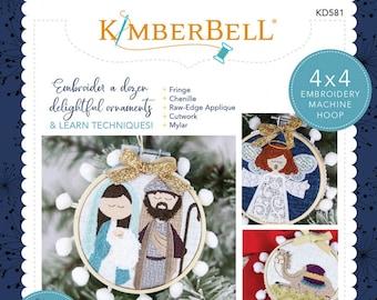 Happy Hoop Decor Vol. 2 Christmas Nativity Ornaments by Kimberbell