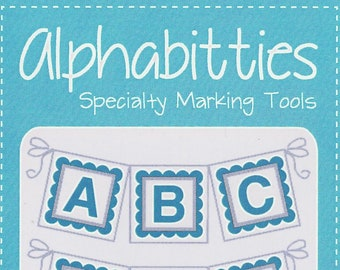 Blue Alphabitties Specialty Marking Tools