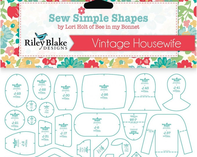 Vintage Housewife Sew Simple Shapes Templates by Lori Holt