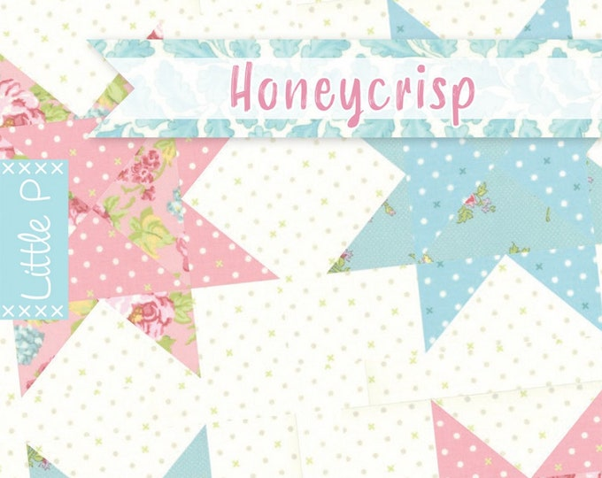 Honeycrisp Quilt Pattern by It's Sew Emma