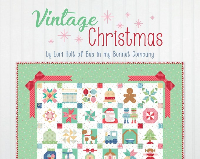 Vintage Christmas Book by Lori Holt