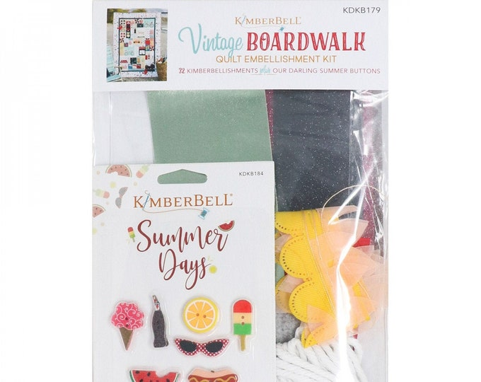Vintage Boardwalk Embellishment Kit by Kimberbell