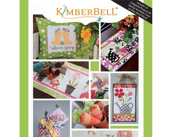 Oh, The Possibilities For Spring! Pattern Book by Kimberbell