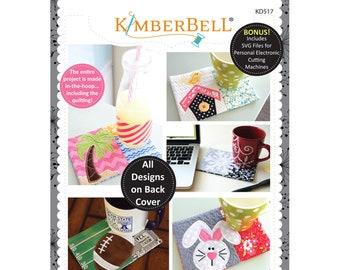 Holiday & Seasonal Mug Rugs Vol 2 Machine Embroidery CD by Kimberbell