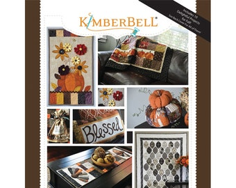 Oh, The Possibilities For Fall! Pattern Book by Kimberbell