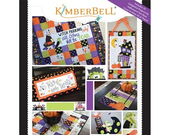 Oh The Possibilities For Halloween! Pattern Book by Kimberbell