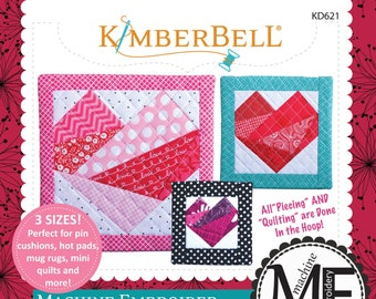 Machine Embroider By Number: Heart Machine Embroidery CD by Kimberbell