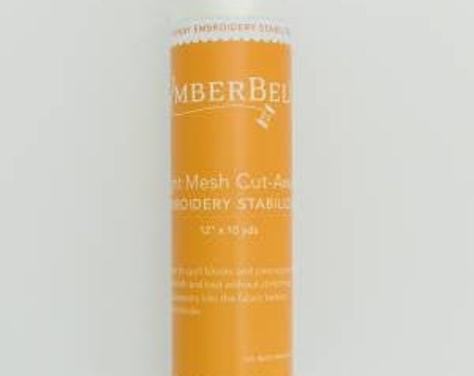 """Light Mesh Cut-Away (12"""" x 10 yards) Embroidery Stabilizer by Kimberbell"""