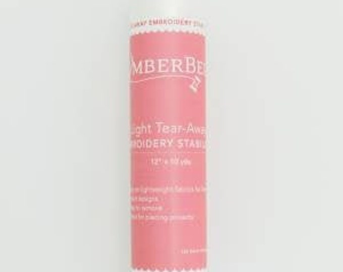 Light Tear-Away Embroidery Stabilizer by Kimberbell