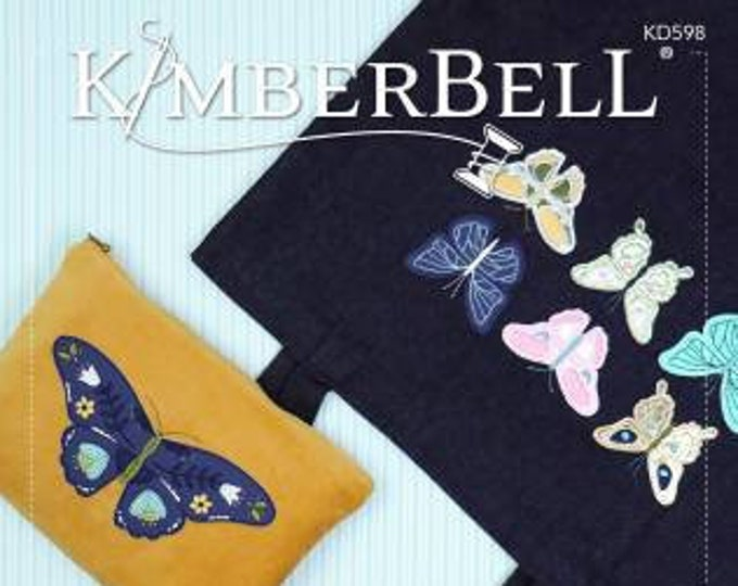 Blossoms & Butterflies: Kimberblank Appliques Machine Embroidery CD by Kimberbell