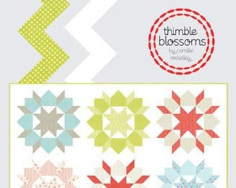 Swoon Quilt Pattern by Camille Roskelley for Thimble Blossoms