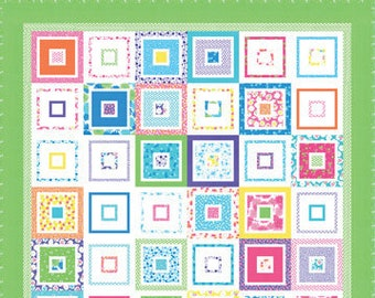 More or Less Quilt Kit Featuring Fiddle Dee Dee by Me & My Sister Designs for Moda