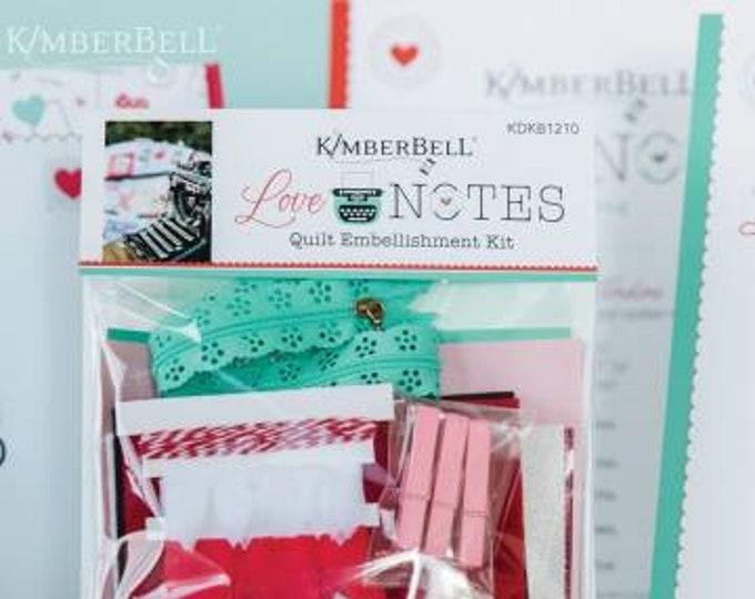Love Notes Embellishment Kit by Kimberbell