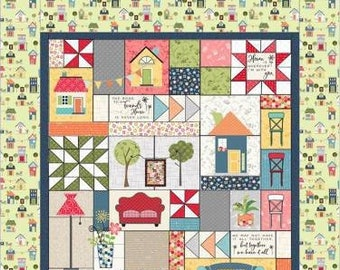 Make Yourself At Home (Embroidery Version) Quilt Kit by Kimberbell