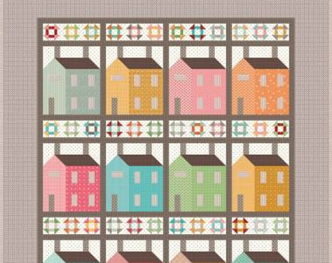 Prim Village Quilt Kit by Lori Holt for Riley Blake Designs