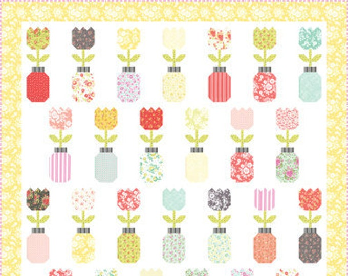 Freshly Cut Quilt Kit Featuring Canning Day by Corey Yoder