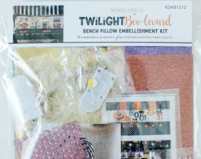 Twilight Boo-levard Bench Pillow Embellishment Kit by Kimberbell