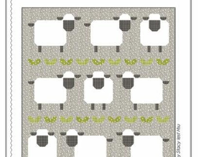 Baa Baa Baby Sheep Quilt Pattern by Stacy Iest Hsu