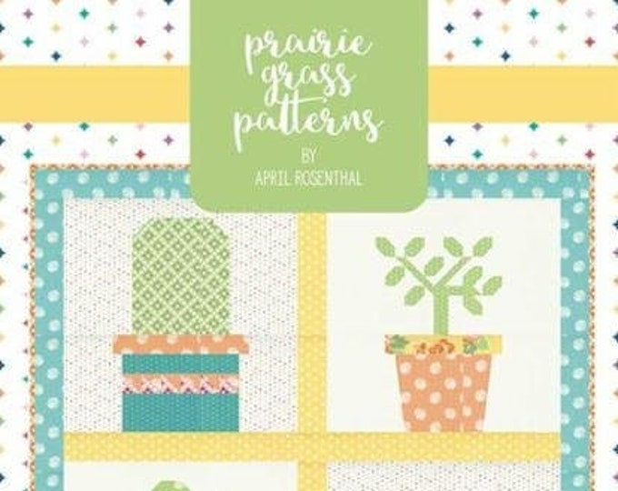 Prickly Plant Quilt Pattern by Prairie Grass Patterns
