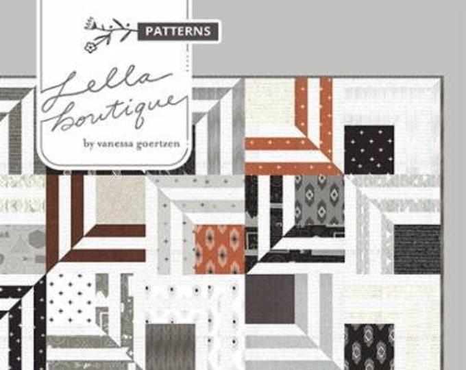 Fracture Quilt Pattern by Lella Boutique