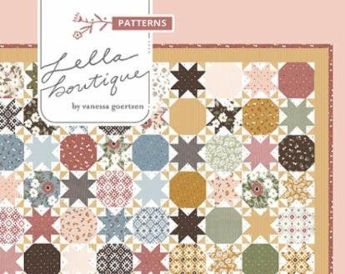 Starstruck 2 Quilt Pattern by Lella Boutique