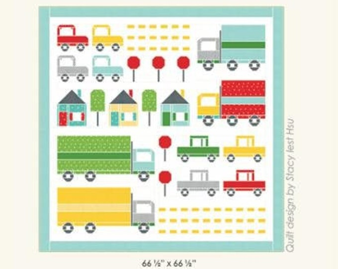 Traffic Jam Quilt Pattern by Stacy Iest Hsu