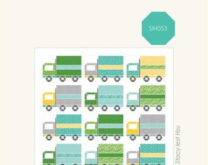 Truckin Quilt Pattern by Stacy Iest Hsu
