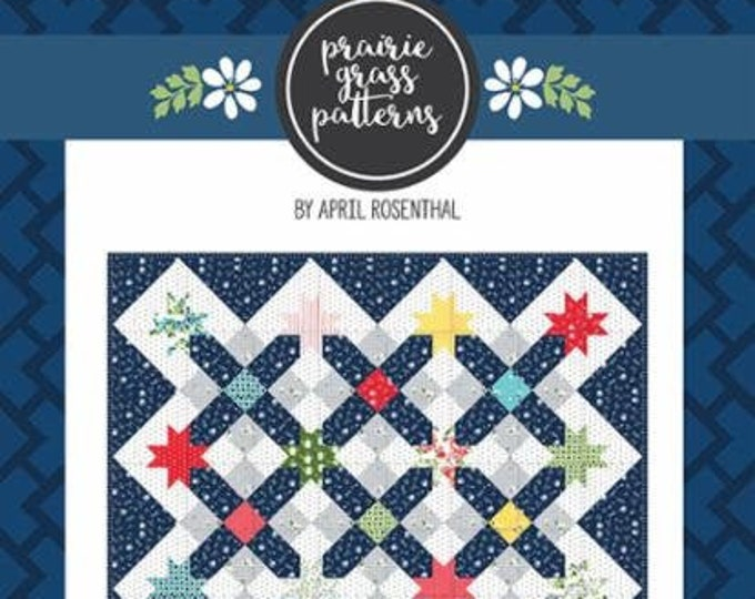 Starway Quilt Pattern by April Rosenthal