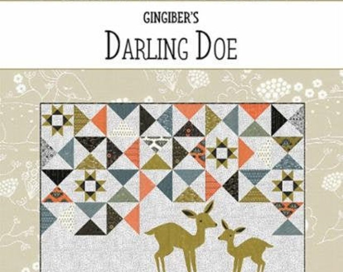 Darling Doe Quilt Pattern by Natalie Crabtree for Gingiber