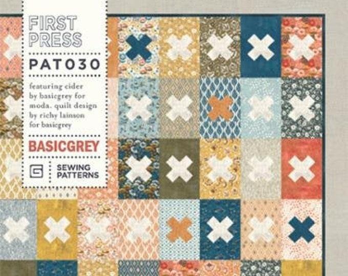 First Press Quilt Pattern by Basicgrey