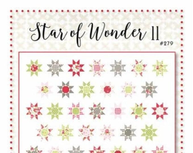 Star of Wonder II Quilt Pattern by Brenda Riddle Designs