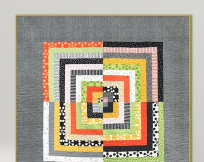 Zen Cabin Quilt Pattern by Zen Chic