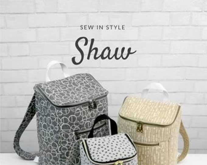 Shaw Bag Pattern by Sew In Style