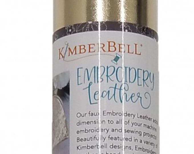 Kimberbell Embroidery Leather - Gold