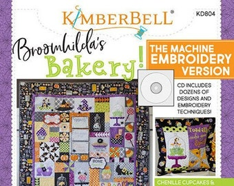 Broomhilda's Bakery Machine Embroidery Version by Kimberbell