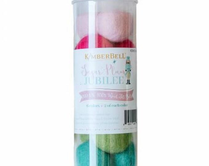 Sugar Plum Jublee Wool Felt Balls by Kimberbell